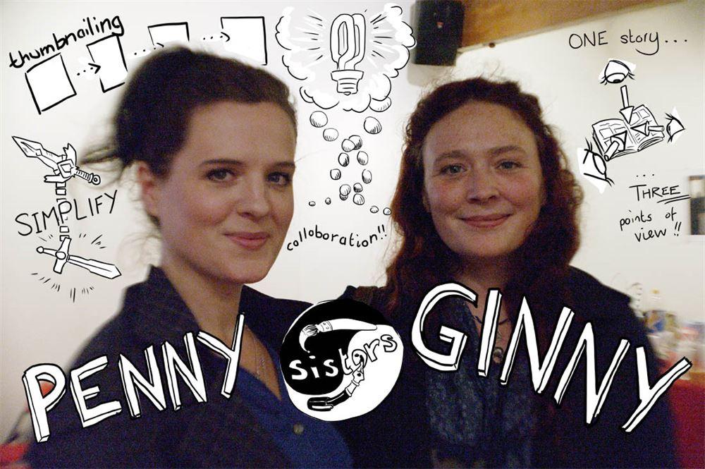 130916 Laydeez 8 Penny + Ginny small