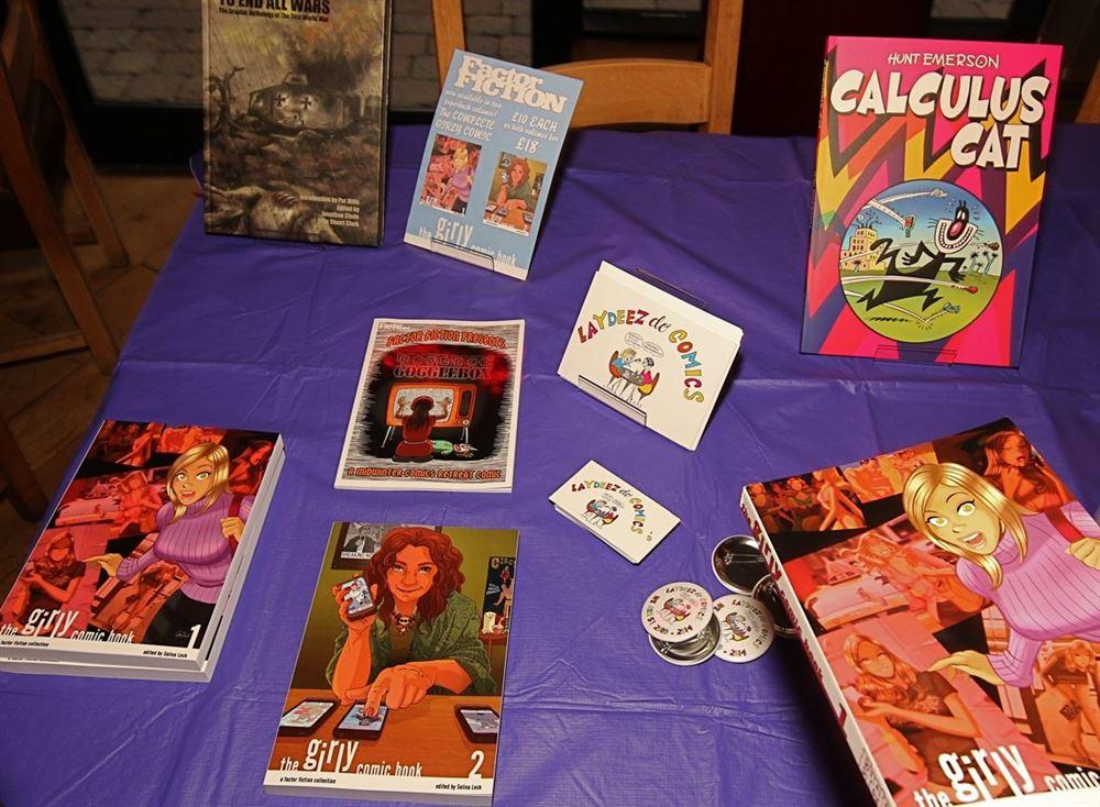 Laydeez Do Comics 3_8_2015_Assorted Books